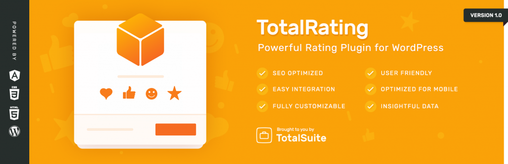 TotalRating: WordPress rating widgets made easy!